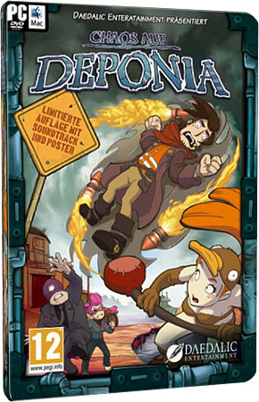 Deponia 2: Chaos on Deponia (Steam-Rip/1.1.4.2273/RUS)