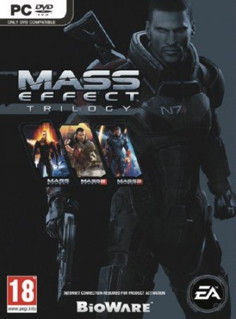 Трилогия Mass Effect / Mass Effect Trilogy (2008-2012/Rus/Eng/PC) RePack by DangeSecond