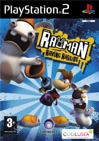 Rayman Raving Rabbids (2006/PS2/RUS)
