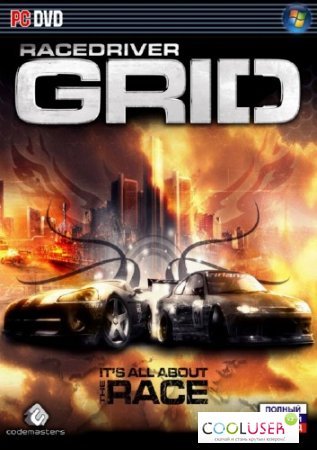 Race Driver: GRID v1.03 (2008/Multi5/Rus/Eng/PC) GOG-License