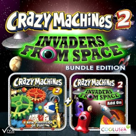 Crazy Machines 2 Invaders from Space (2013ENG-TiNYiSO)